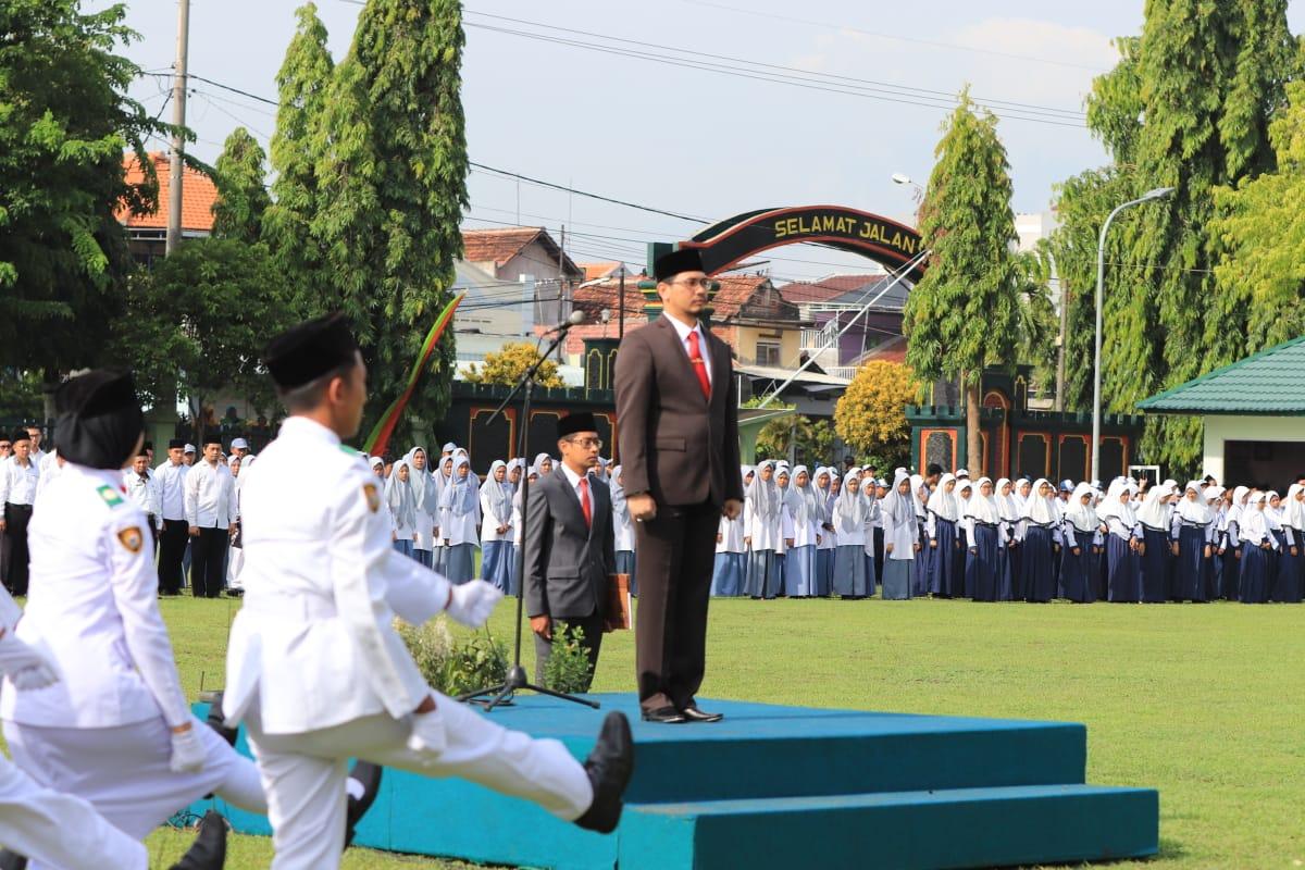 UPACARA HARI AMAL BAKTI KEMENTERIAN AGAMA REPUBLIK INDONESIA KE 74 TAHUN 2020