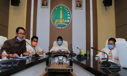 PEMERINTAH KOTA PASURUAN SAMPAIKAN PROGRESS PROGRAM PENCEGAHAN KORUPSI PADA MONITORING CENTER OF PREVENTION KPK