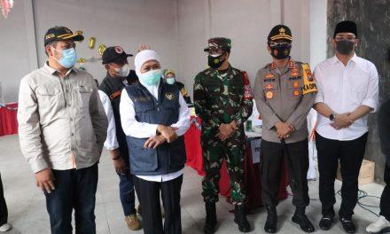 Monitoring Pilkada Kota Pasuruan, Gubernur Jatim Imbau Masyarakat Patuh Protokol Kesehatan