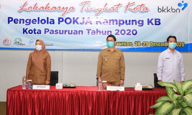 Wali Kota Pasuruan Membuka Lokakarya Tingkat Kota  Kampung KB Tahun 2020