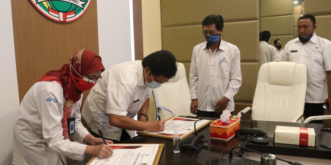 Pemerintah Kota Pasuruan  – Badan Pusat Statistik Kota Pasuruan  Komitmen Hasilkan Data Akurat