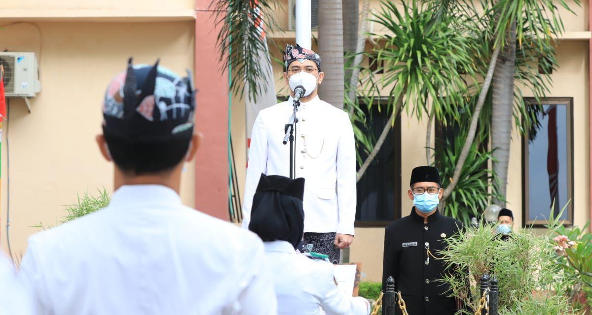 HUT Kota Pasuruan Ke 335 Tahun, Walikota Pasuruan Bangkitkan Semangat Gotong Royong Untuk Bebas Dari Covid-19
