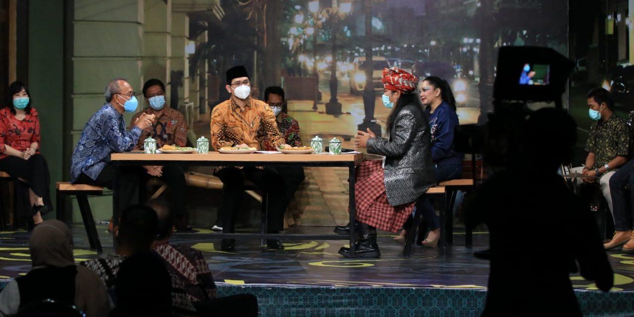 Gak Cuma Cangkru'an: Talkshow Live Walikota Pasuruan Bersama Jajarannya Dalam Rangka HUT Kota Pasuruan Ke 335 Tahun Di JTV