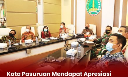 Kota Pasuruan Mendapat Apresiasi  Pelaksanaan PPKM Mikro Dalam Rapat Evaluasi   Per Bakorwil  Di Jawa Timur