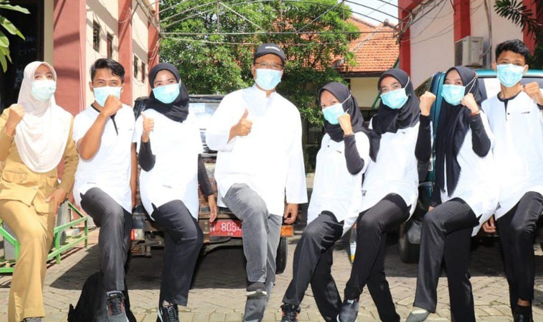 #SenamCaring. Bersama seluruh staf dan pegawai dilingkungan pemerintah kota pasuruan guna tingkatkan imunitas tubuh