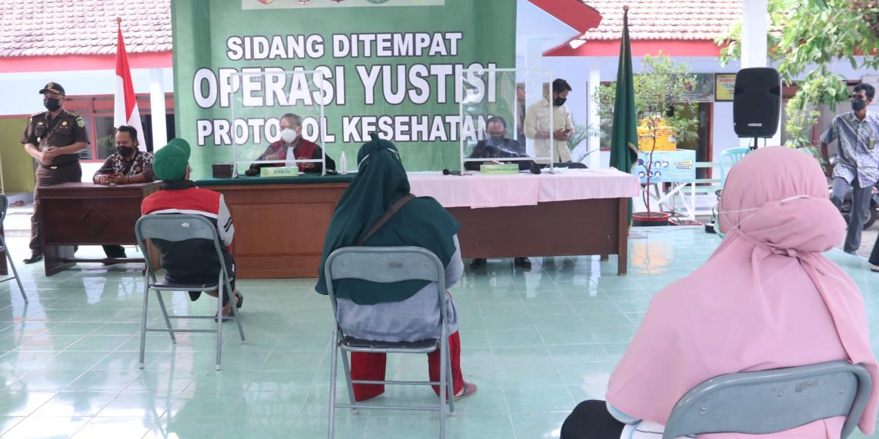 Dua Puluh Lima Pelanggar Protokol Kesehatan di Sidang Tipiring