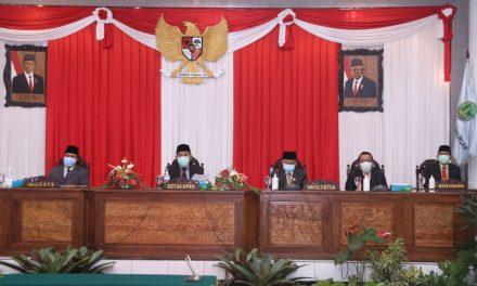 DPRD Terima Pertanggungjawaban APBD 2020, Gus Ipul  Sampaikan Terima Kasih Atas Kritik dan Saran Sebagai Catatan Perbaikan Ke Depan
